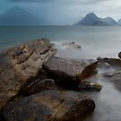 Moody Elgol at Dusk by Claire Tennant