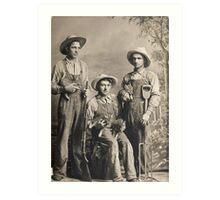 Richardson Boys 1903 Art Print