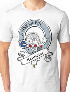 00032 Kennedy Clan Tartan  Unisex T-Shirt