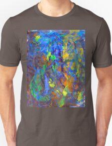 Deep Space Abstract Art Background T-Shirt
