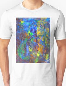 Deep Space Abstract Art Background T-Shirt