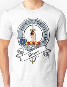 00035 Shaw Clan Tartan  T-Shirt