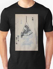 Yenshu ryu ikebana hiak bin no zu shiki konzatsu Flower arrangement in the Enshu style V2 1897 0031 T-Shirt