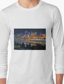 Melbourne Flinders Street Station Long Sleeve T-Shirt