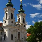 Church Mariahilf, Graz by christopher363