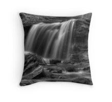 Tuscarora Falls, detail #1 Throw Pillow