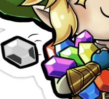 All the Rupees! Sticker