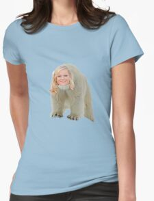 Poehler Bear Womens Fitted T-Shirt