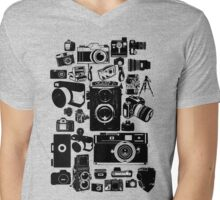 Cameras Mens V-Neck T-Shirt