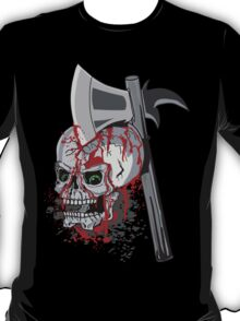 Bloody Monday Morning Feeling! Skull with Blood Drips T-Shirt