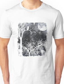 Forest at Night Unisex T-Shirt