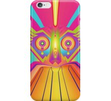 abstract mask 3 iPhone Case/Skin