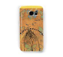 Namaste yoga inspired art Samsung Galaxy Case/Skin
