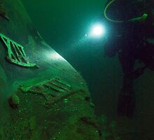 Out of the Deep - the wreck of the HMCS Columbia by lgraham