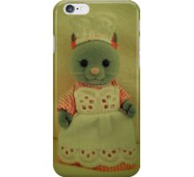 Sylvanian Families ~ Cat Waitress Suzette iPhone Case/Skin