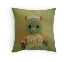 Sylvanian Families ~ Cat Waitress Suzette Throw Pillow