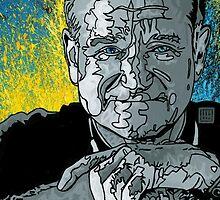 "Ode to Robin Williams - ""Nanu, Nanu"" by ArtByGolfis"