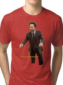 """You Just Got Jamm-ed!"" Tri-blend T-Shirt"