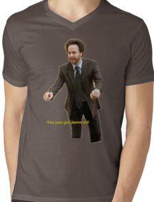 """""""You Just Got Jamm-ed!"""" Mens V-Neck T-Shirt"""