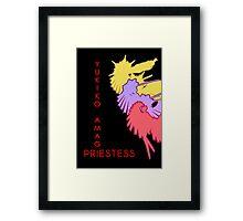 Yukiko's Persona Framed Print