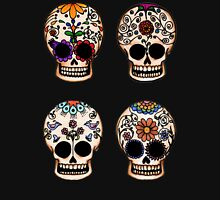 Sugar Skull Set Womens Fitted T-Shirt
