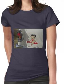 Betty Boop Womens Fitted T-Shirt