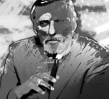 Dennis Hopper Portrait by jimiyo