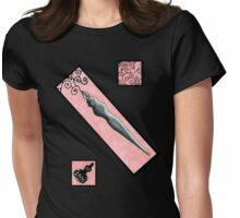 Pen and Ink Womens Fitted T-Shirt