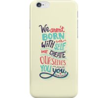 You make you iPhone Case/Skin