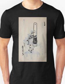Yenshu ryu ikebana hiak bin no zu shiki konzatsu Flower arrangement in the Enshu style V2 1897 0036 T-Shirt