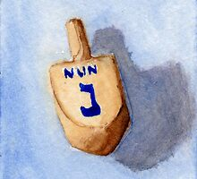 Dreidel - Nun, Nite, Nothing by Amy-Elyse Neer