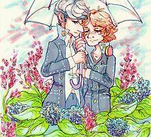 Hydrangeas by stillnotblinkin