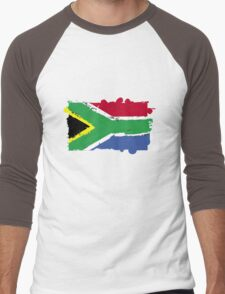 South Africa Men's Baseball ¾ T-Shirt