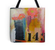 143 Billboard for Love urban graphic abstract Tote Bag