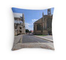 St Michael-Le-Belfrey , York Throw Pillow