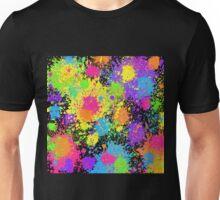 Splattah in Black Unisex T-Shirt