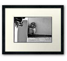 SKIATHOS - A touch of mediterranean mood - B/W Framed Print