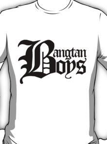 BTS/Bangtan Boys - Old English Style T-Shirt