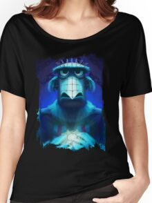 Muppet Maniac - Sam the Eagle as Pinhead Women's Relaxed Fit T-Shirt