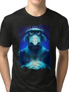 Muppet Maniac - Sam the Eagle as Pinhead Tri-blend T-Shirt