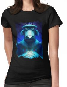 Muppet Maniac - Sam the Eagle as Pinhead Womens Fitted T-Shirt