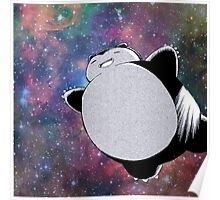 Snorlax In Space Poster