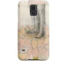 Stepping Into Lotus yoga inspired art Samsung Galaxy Case/Skin