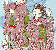 Maneki Neko Maiko by BlissAndKittens