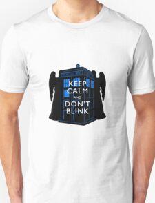 Keep Calm & Don't Blink Unisex T-Shirt
