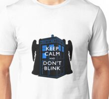 Keep Calm & Don't Blink Unisex T-Shirt