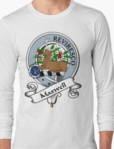 00099 Maxwell Clan/Family Tartan  Long Sleeve T-Shirt