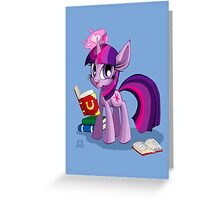 Study Time! Greeting Card