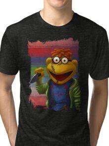Muppet Maniac - Scooter as Chucky Tri-blend T-Shirt