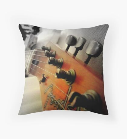 As Jimmy watches over... Throw Pillow